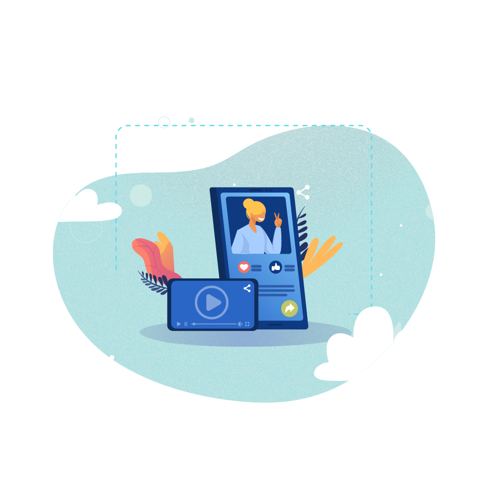 individualized services in videos with dynamic video sales