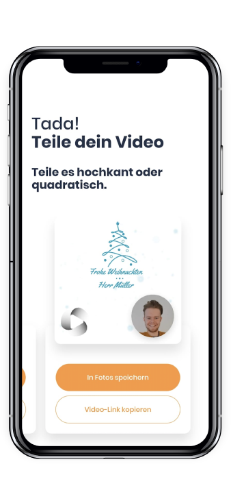 Share your Christmas Video from Mozaik by Dynamic Video